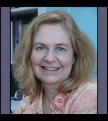Susan Hasler, author of political satire